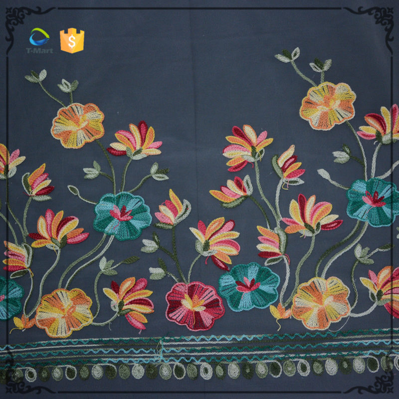 2018 Embroidery lace fabric