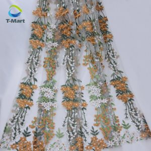 Embroidery lace fabric Factory