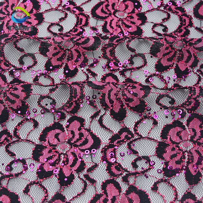 Sequin Lace Fabric factory.