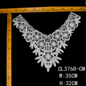 embroidery collar applique
