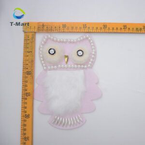 Owl cartoon patch