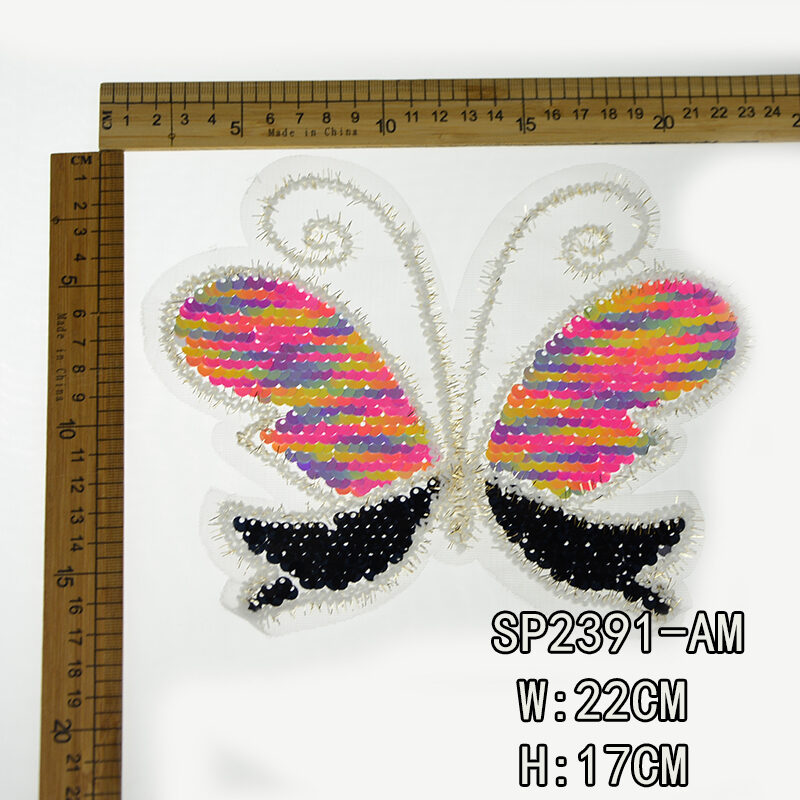 Embroidery Sequin Patch