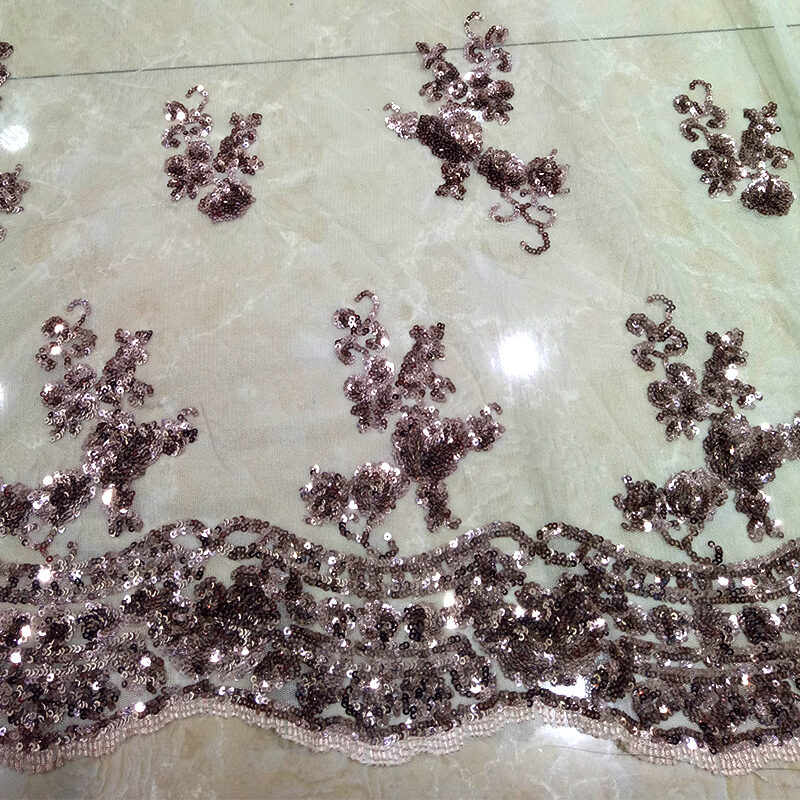 Embroidery Flower Tulle lace