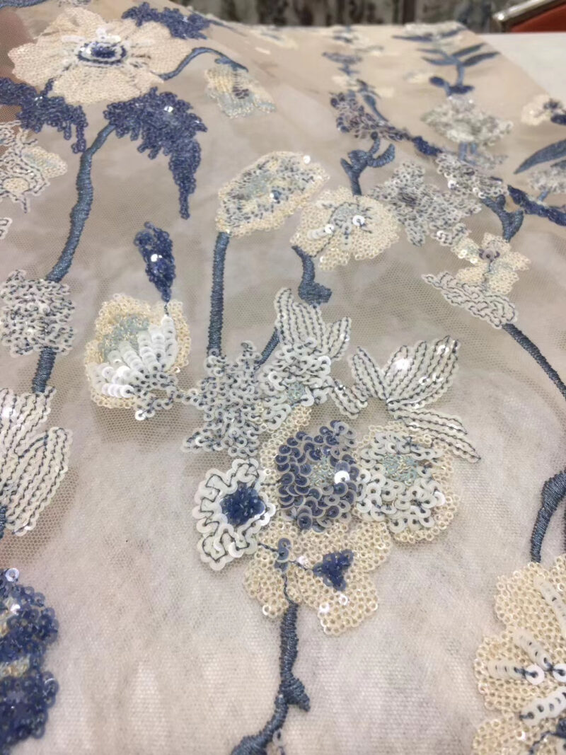 Embroidery Mesh Fabric Lace