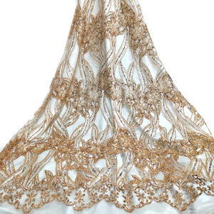 embroidery organza lace fabric