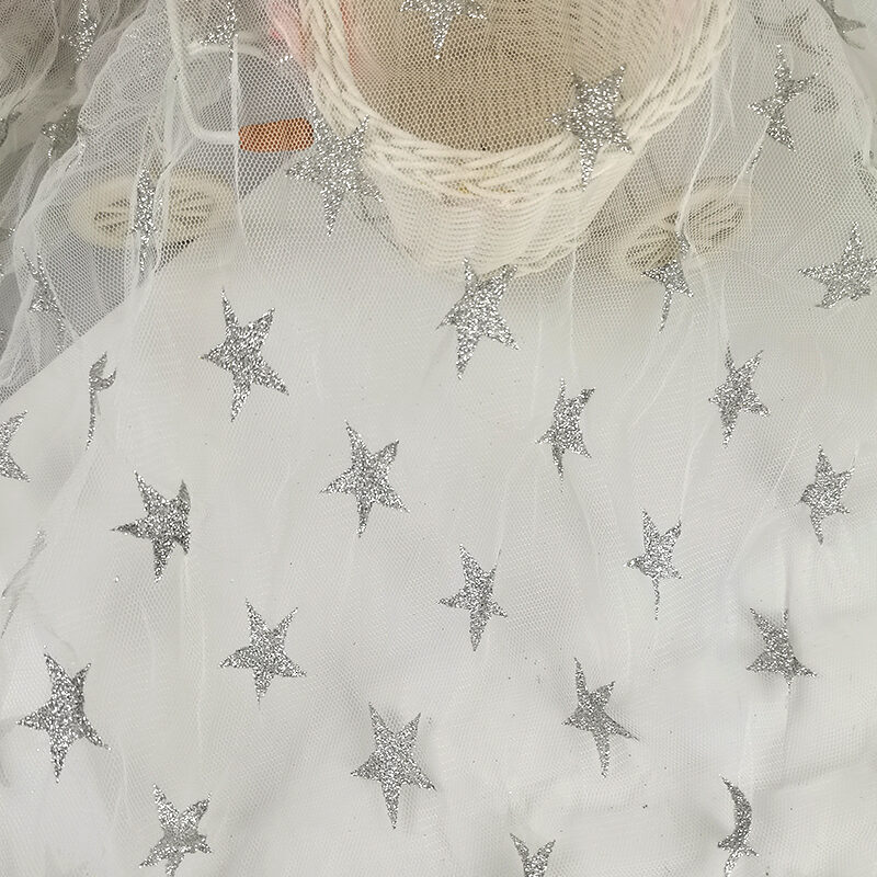 White Lace Fabric