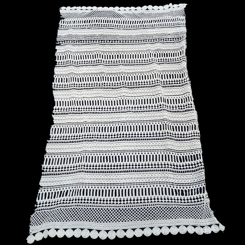 3D guipure lace fabric