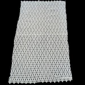 mesh guipure lace