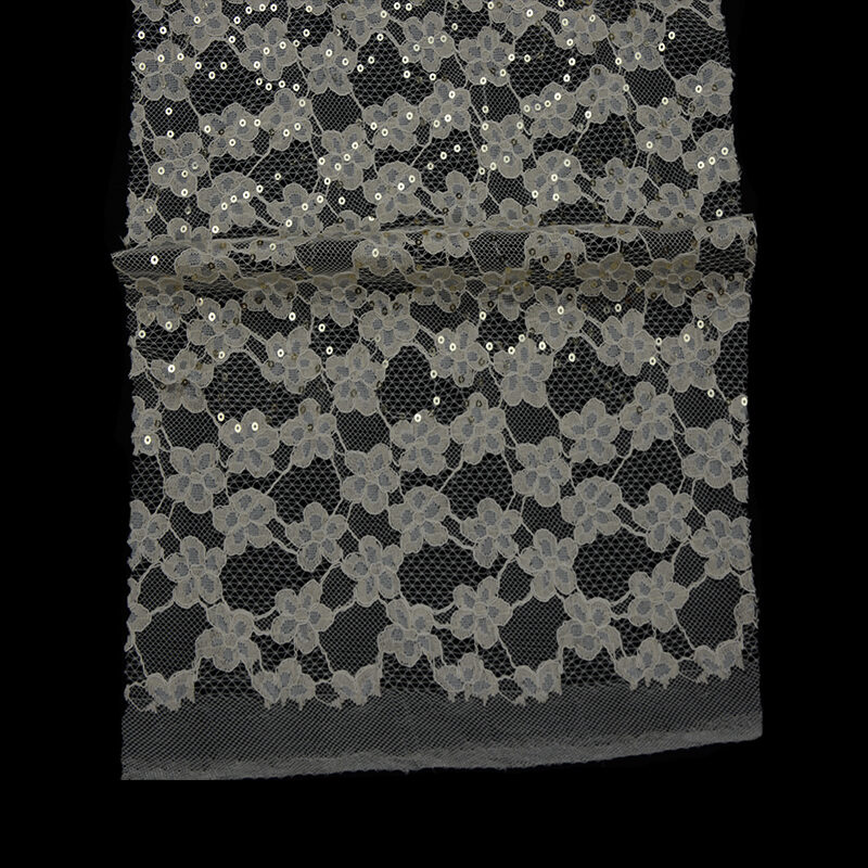 Two-tone Cord Lace Fabric
