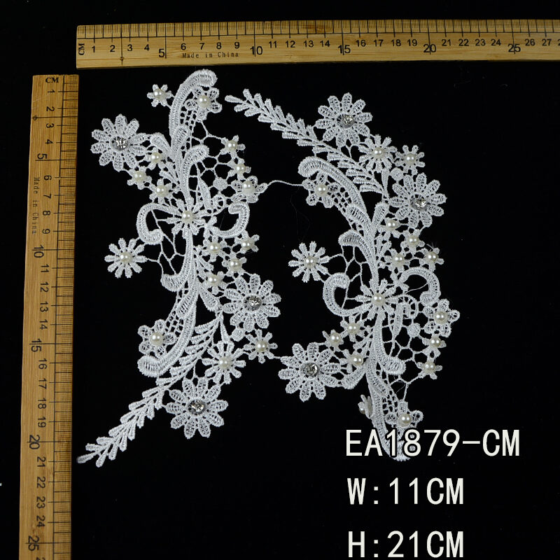 flowers guipure lace