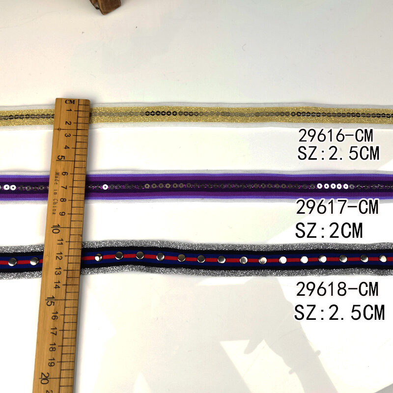 Beaded Ribbon Trim