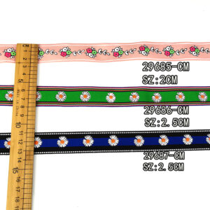 Square ribbon trim