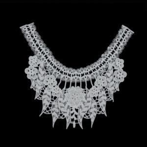 embroidery collar applique