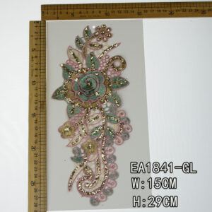 Polyester material embroidery lace collar