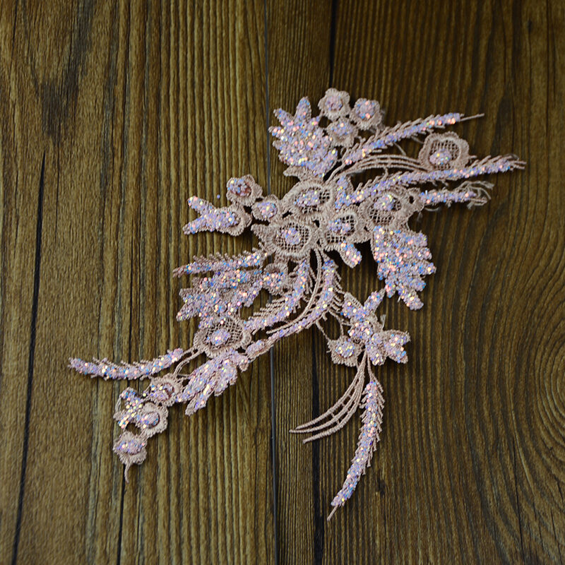 flowers lace collar