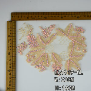 colorful embroidery lace