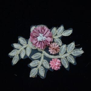 3d cord lace flowers