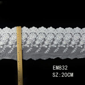 cotton mesh Lace Trim