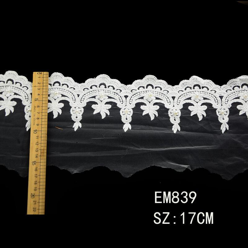 guipure mesh lace trim