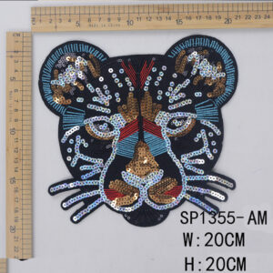 tiger sequin patch