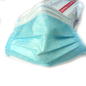 In Stock 3 ply Faceshield N95 Protection Disposable Non-woven Face Mask