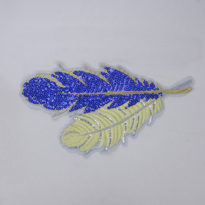 Leaf Embroidery patch Fashion Accessories For Garment