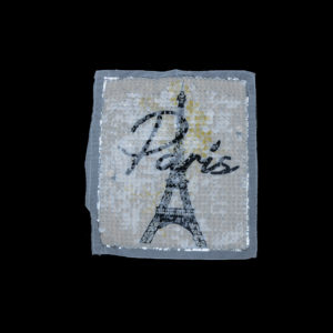 Eiffel Tower Sequin Patch