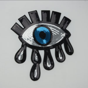 Evil Eye Patch Sequin Style Fashion Accessories For Garment