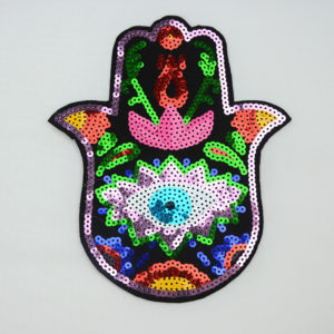Hand Sequin Patch Accessories For Garment ,the best manufacturer in China Guanhzhou,high quality and wholesale price for customers