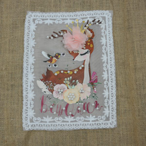 Unicorn Guipure Patch Accessories 2020 China Wholesale Cute Style