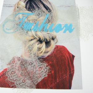 Girl Lace Printed Patch Fashion Accessories 2020 New Design