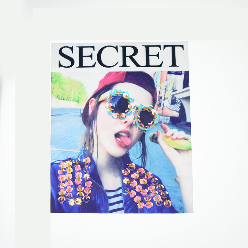 Sunglasses Beaded Printed Patch Fashion Accessories 2020 Latest