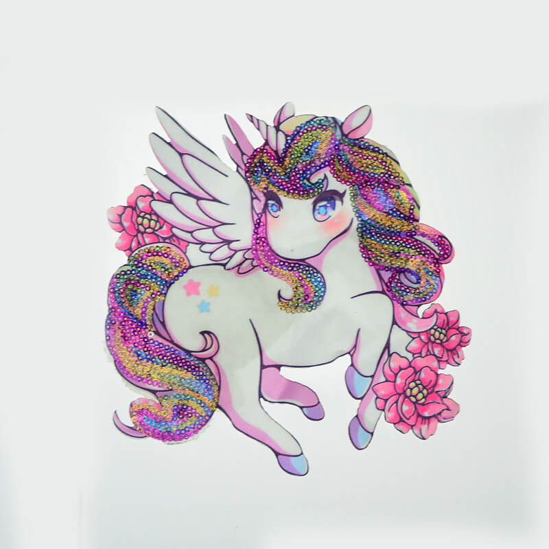 Unicorn Sequin Printed Patch Wholesale 2020 Textile Accessories