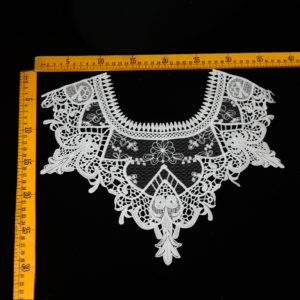 High Quality Classical Mesh Guipure Lace Neck For Lady Garment