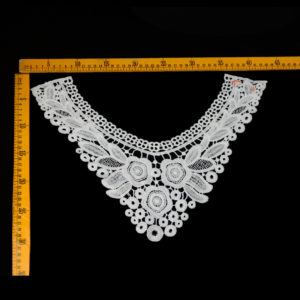 High Collar Applique Hot Selling Classical Material Mesh Guipure
