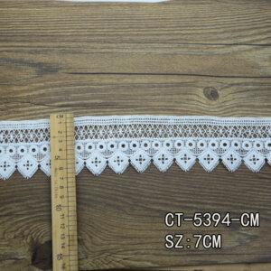 wide lace trim