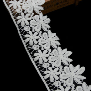embroidered trim