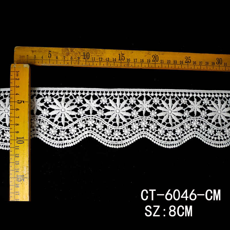 Wholesale Lace trim roll 13 meters