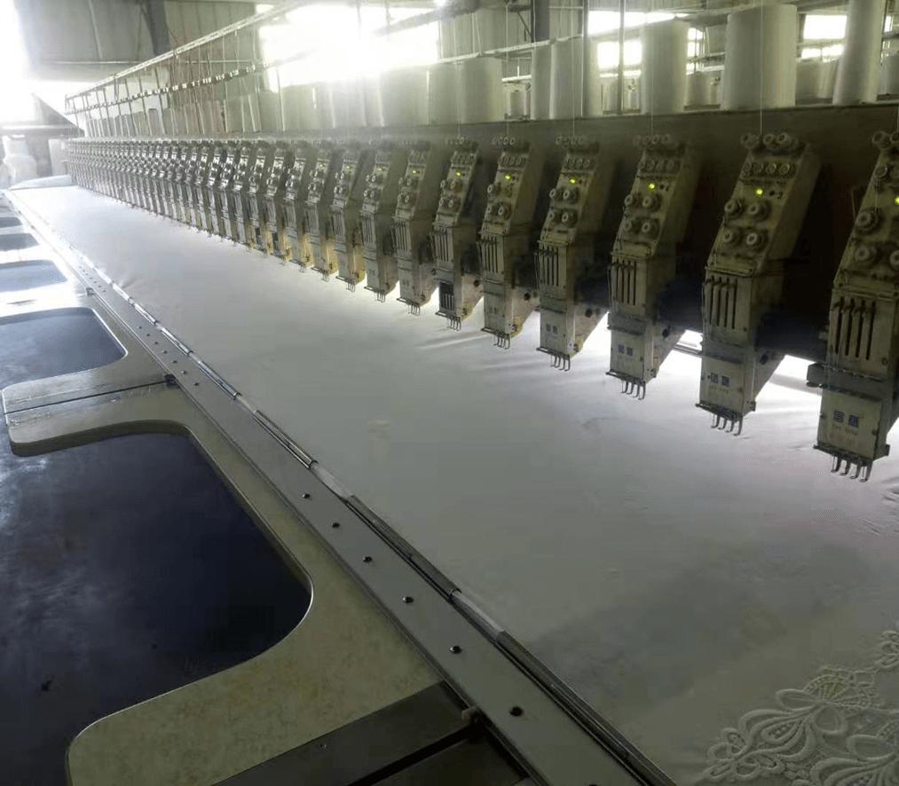 Guipure Trim Production Process