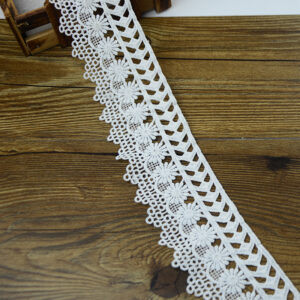 What style is suitable to import lace of guipure