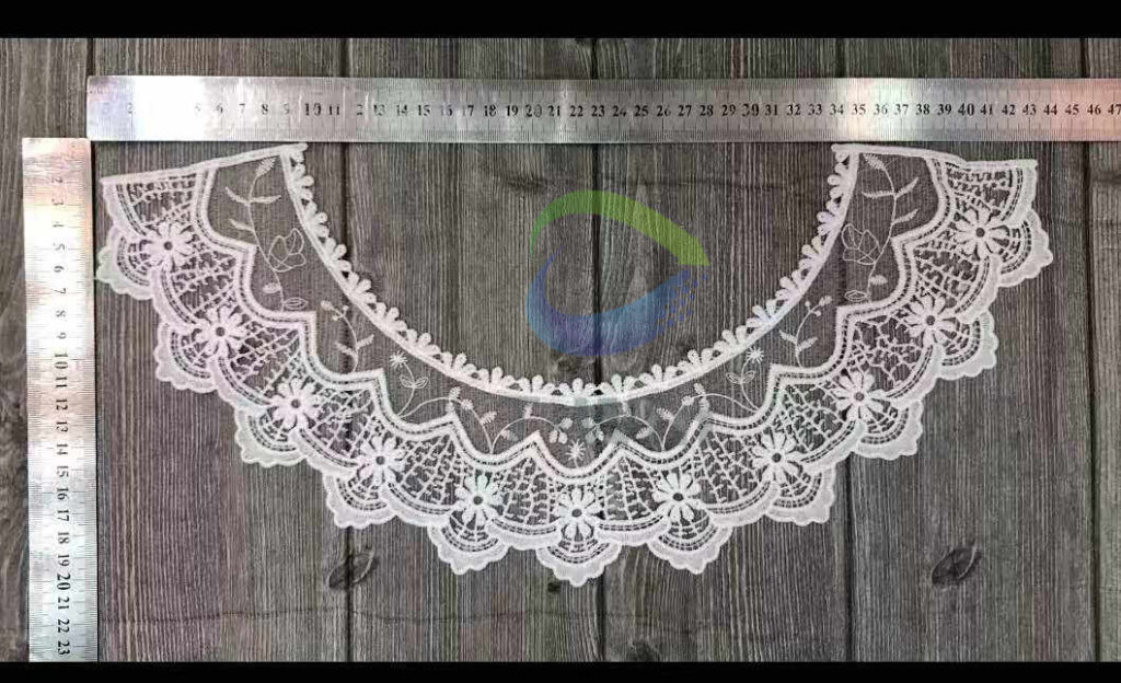 Guipure Lace Mesh Necklace