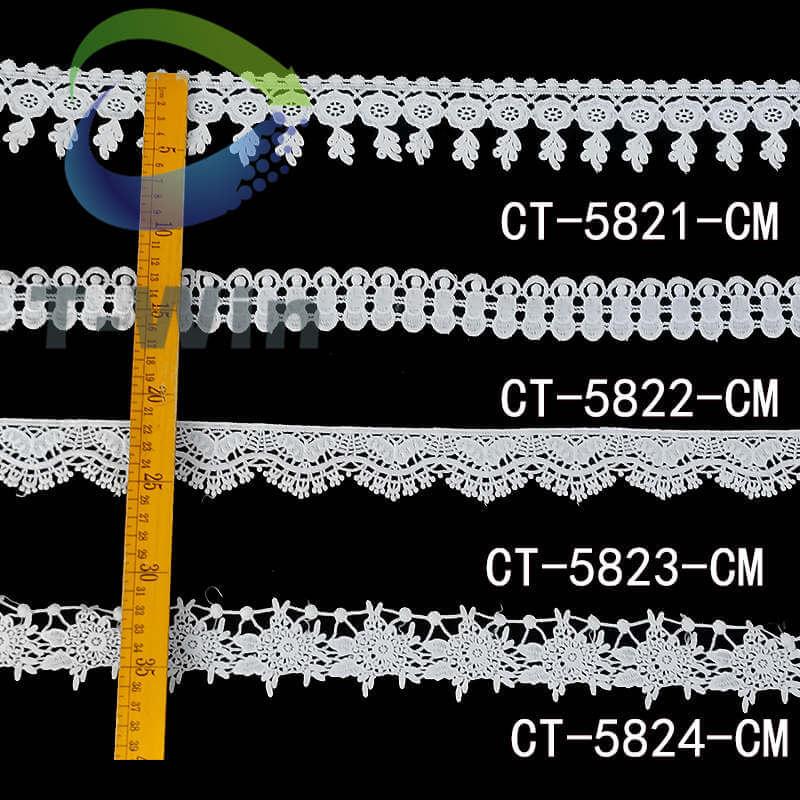 Classic guipure lace trim