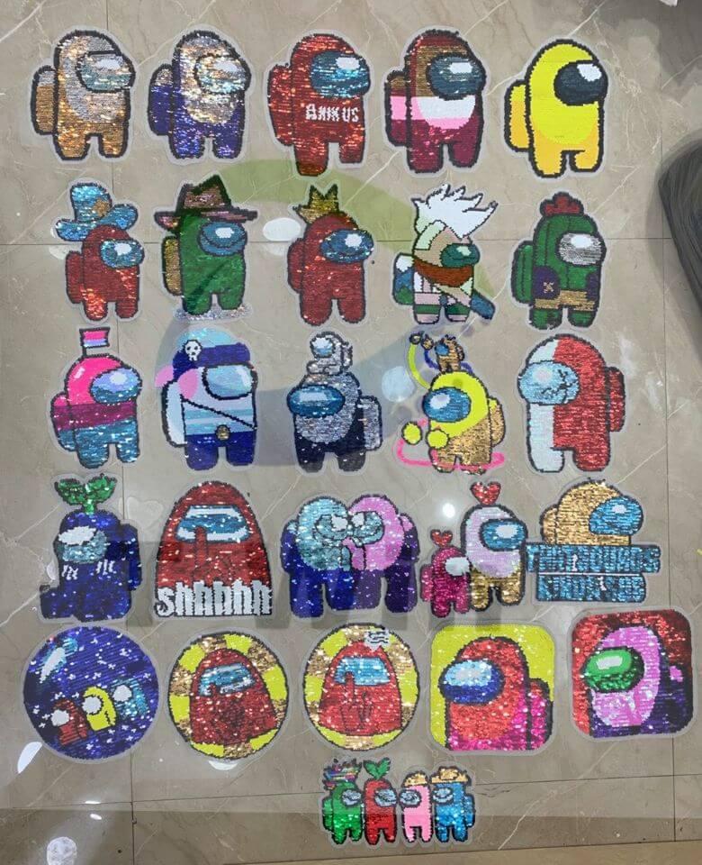 sequin patches wholesale